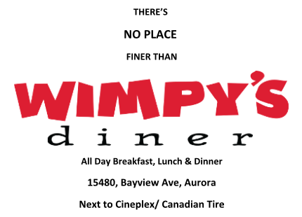 Wimpy's Diner (15480 Bayview Ave.)
